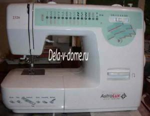 Современная швейная машинка для дома