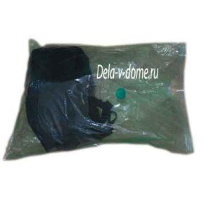 Упаковка мягких вещей в вакуумный мешок