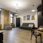 Квартира- студия для 3 гостей