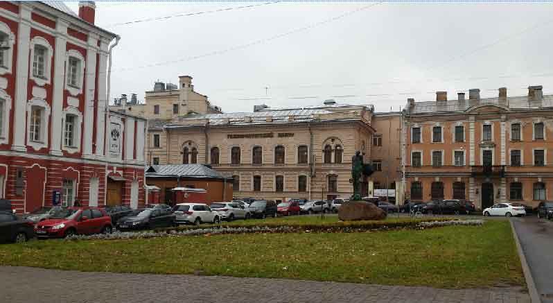 Площадь Сахарова.