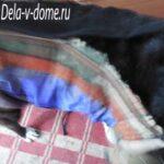Застежка-молния на попоне для собаки